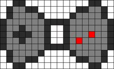 Game Controller Bow perler bead pattern