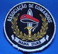 PORTUGAL PORTUGUESE COMMANDOS COMANDOS ASSOCIAÇÃO VETERAN PATCH
