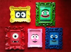Yo Gabba Gabba! character frames