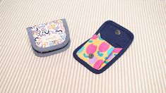 sewingtimes: DIY EASY COIN CASE - Sewing Gifts Ideas [sewingtimes] Cute Coin Purse, Diy Purse, Coin Purse Wallet, Coin Purses, Pouch, Sewing Hacks, Sewing Tutorials, Coin Purse Tutorial, Bag Patterns To Sew
