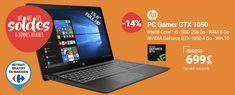 Soldes PC Portable Rue du Commerce , achat HP Pavilion Power 15-CB015NF pas cher prix Soldes Rue du Commerce 699.99 € TTC au lieu de 849.99 €