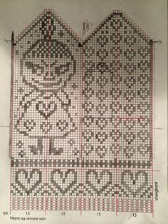 Baby Knitting Patterns Mittens v Knitting Charts, Knitting Stitches, Free Knitting, Baby Knitting, Knitting Patterns, Crochet Patterns, Crochet Baby Mittens, Knitted Mittens Pattern, Knit Mittens