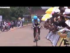 Tour du Rwanda 2014 -  Prologue du Dimanche 16/11/14. LES RWANDAIS EN FORCE Les coureurs rwandais de l'équipe Karisimbi n'ont pas raté leur début sur cette 6è édition du Tour en prenant les 4 premières places du prologue.