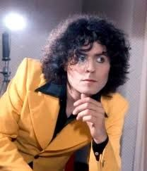 Image result for marc bolan hair towel