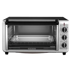 BLACK DECKER TO3260XSBD 8 Slice Extra Wide Toaster Oven