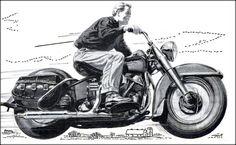 Finding Vintage Cars That Are For Sale - Popular Vintage Harley Panhead, Harley Davidson Panhead, Vintage Harley Davidson, Motorcycle Garage, Motorcycle Art, Vintage Advertisements, Vintage Ads, Vintage Shoes, Vintage Images