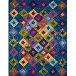 Ocean's Eleven quilt pattern from Allison Quilt Designs