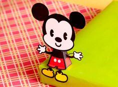 Free printable: Mickey/Minnie Mouse Cutie