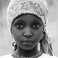 Nigerian Girl with soulful eyes..