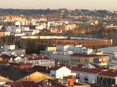 badajoz plaza de toros desde la catedral . #badajoz #plazadetoros