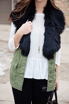 jillgg's good life (for less) | a west michigan style blog: my everyday style: last call for faux fur!