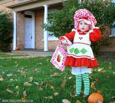 Strawberry Shortcake! My little girls halloween costume this year.