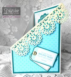 Debra Shaw - Downton Abbey Collection - Feather Brooch Die, Downton Abbey Icons Dies, Elegant Border Die, Half Doily Die - Ivy Stuart paper CD2, Tags and Topper CD1 & 2 - Distress Ink - Collall All purpose & Tacky Glues - #crafterscompanion #DowntonAbbey