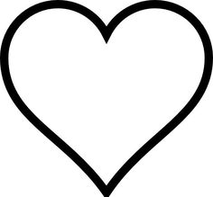 picture regarding Free Printable Heart Template known as 10 Maximum Inspiring Middle template Designs