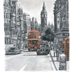 A sketch by Stephen Wiltshire - London