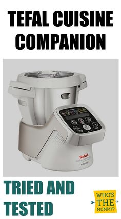 A review of the new Tefal Cuisine Companion all in one slow cooker, food processor, chopper, sauce-maker, blender and more! We tried it and wrote about what we liked!