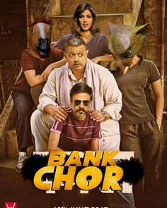 After #Dangal's stupendous success in China - Next film to release there is #BankChor - This is our poster for the China release