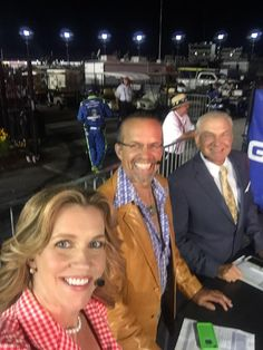 We r ready for post race on @NBCSN .. Who's going to be behind us in Victory Lane?! @TooToughToTame #nascarthrowback