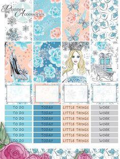 Sticker - 88 Stickers - Happy Planner Wochen Kit Set07 - ein Designerstück von PlannerAccessories bei DaWanda