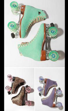 Los patines fetiche. La versión más cool de estos patines, que ahora son prácticamente vintage, ha llegado de la mano de la firma Moxi –a la venta en Urban Outfiters–