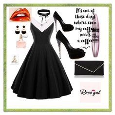 """""""NEW CONTEST! ROSEGAL vintage dress-2 winner will win $20 cash"""" by fatimazbanic ❤ liked on Polyvore featuring L.K.Bennett, Casadei, Guerlain, Maybelline, iCanvas, Boohoo, Warehouse and vintage"""