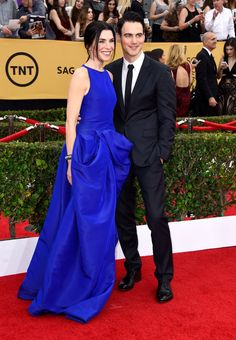 Pin for Later: Stars Couple Up on the SAG Awards Red Carpet Julianna Margulies and Keith Lieberthal