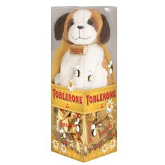Toblerone On-Pack Gift – Adorable Plush Dog Promos
