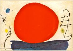 Joan Miro - The Red Sun