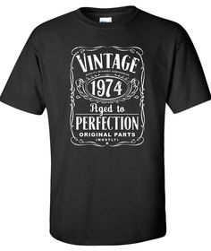 40th Birthday Gift For Men and Women  Vintage by SHIRTSnGIGGLES, $16.99