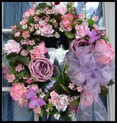 luxurious+spring+wreaths | ... Wreaths, Luxury Christmas Wreaths - Luxury Spring Wreaths