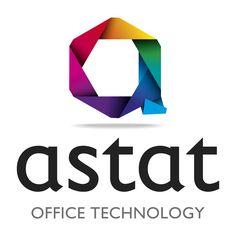 ASTAT Office Technology Logo Design