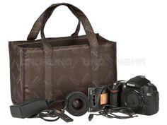 Kalahari KAAMA L-22 - Innentasche Ersatz Fotoeinsatz Foto-Tascheneinsatz Zweiteinsatz - braun 440588