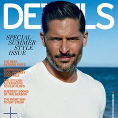 Joe Manganiello is getting wet and wild in the pages of Details! The actor is featured in the mag...