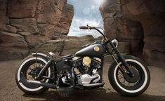 Harley Panhead retro bobber | Bobber Inspiration - Bobbers and Custom Motorcycles | jd-kd September 2013