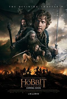 """""""If this is to end in fire, then we will all burn together."""" New international poster for #TheHobbit!"""