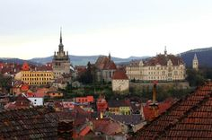 Sighisoara - Romania. Even today, is considered the most beautiful citadel in Europe.