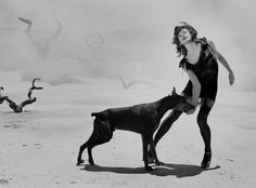 Peter Lindbergh's Women #MillaJovovich #PeterLindbergh #Wmag