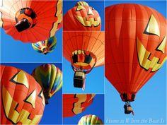 Pumpkin Balloon - fall festival