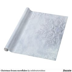 Sold. #Christmas #frozen #snowflakes #wrappingpaper available in different products. Check more at www.zazzle.com/celebrationideas