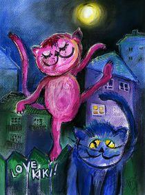 """Love Kiki"" Karina Fulara, Pastell"