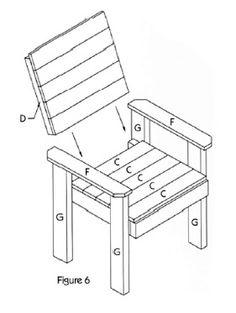 DIY lawn chair