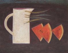 Jug, Watermelon and Beans, (2014) by Vivienne Williams