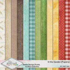 In the Garden - Papers