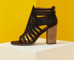 **** Just in for your Spring Summer Stitch Fix!  Wanting these caged black stacked heel mules for Spring.  Stitch Fix Spring, Stitch Fix Summer, Stitch Fix Fall 2016 2017. Stitch Fix Spring Summer Fall Fashion. #StitchFix #Affiliate #StitchFixInfluencer