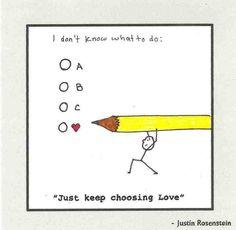 I choose...❤️