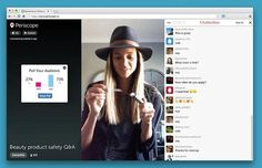 Chatterbox for Periscope una extensión para realizar encuestas en tiempo real de los vídeos emitidos en directo por Periscope