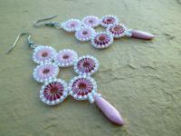 Aimee Beaded Rings, Crochet Earrings, Beads, Diy, Inspiration, Beadwork, Jewelry, Schmuck, Beading