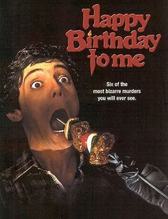 Happy Birthday to Me (1981) Horror Movie
