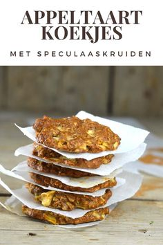 Healthy Bars, Healthy Baking, Healthy Snacks, Style Hippie Chic, Cookie Recipes, Snack Recipes, Healthy Biscuits, Dessert Drinks, Diy Food