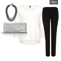Check out 1 clutch - 3 styles #pants #jumper #combination